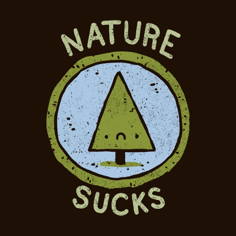 Nature Men's Pullover Hoody by Luis Romero