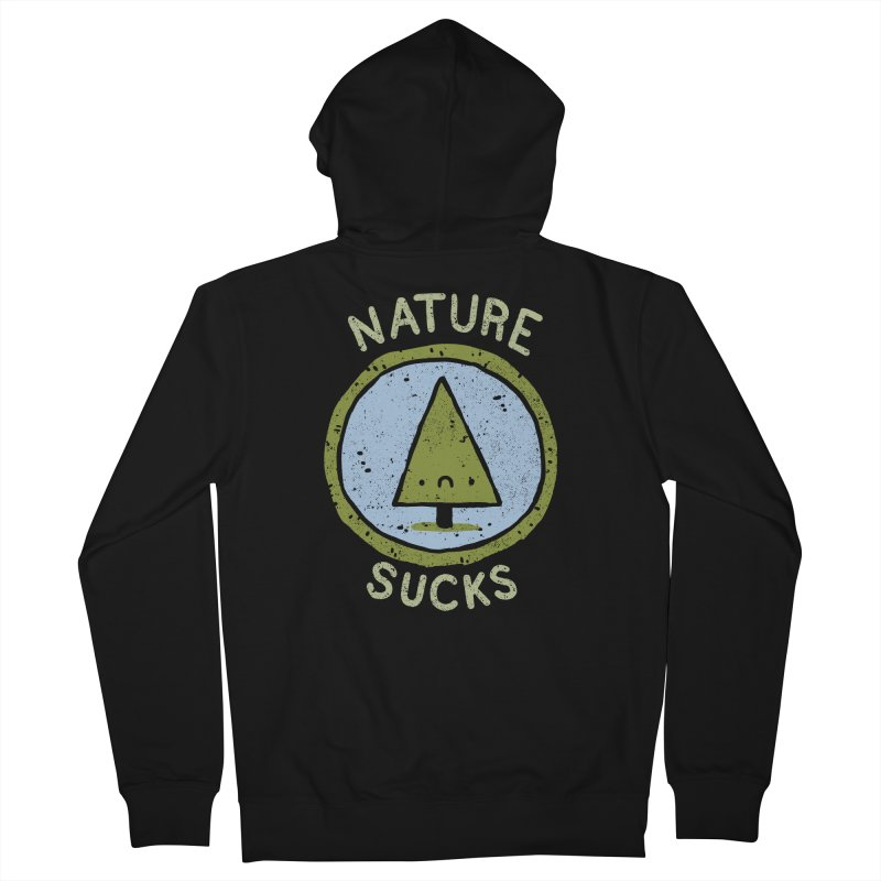 Nature Men's Zip-Up Hoody by lxromero
