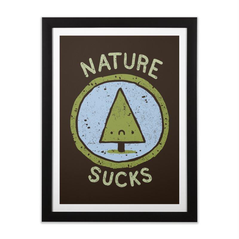 Nature Home Framed Fine Art Print by lxromero