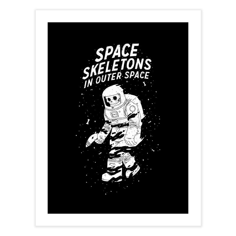 Space Skeletons In Outer Space   by lxromero