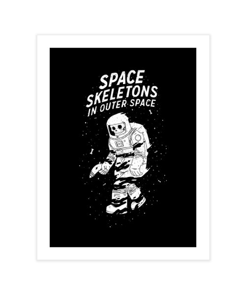 Space Skeletons In Outer Space
