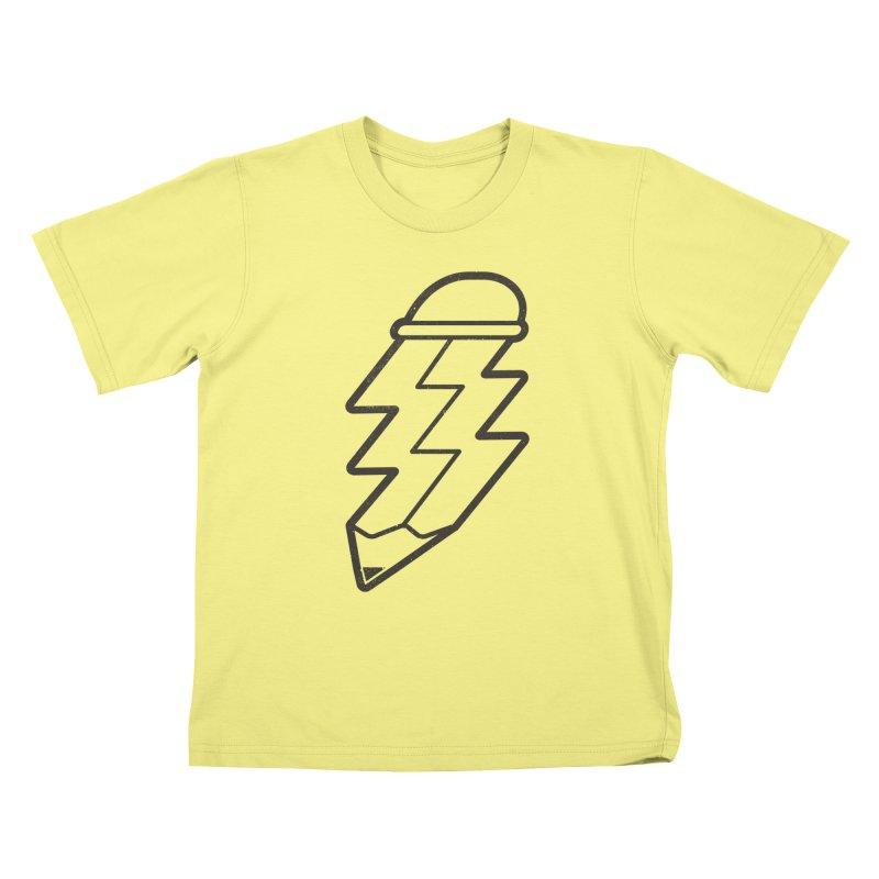 Inspiration Kids T-shirt by lxromero