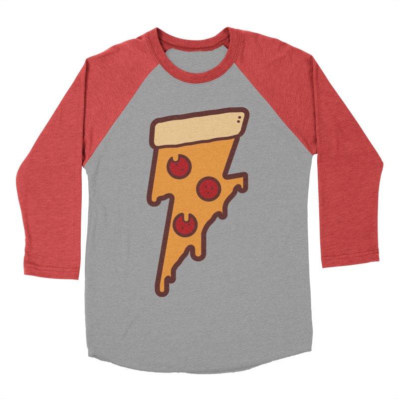 Lightning Fast Men's Baseball Triblend T-Shirt by lxromero