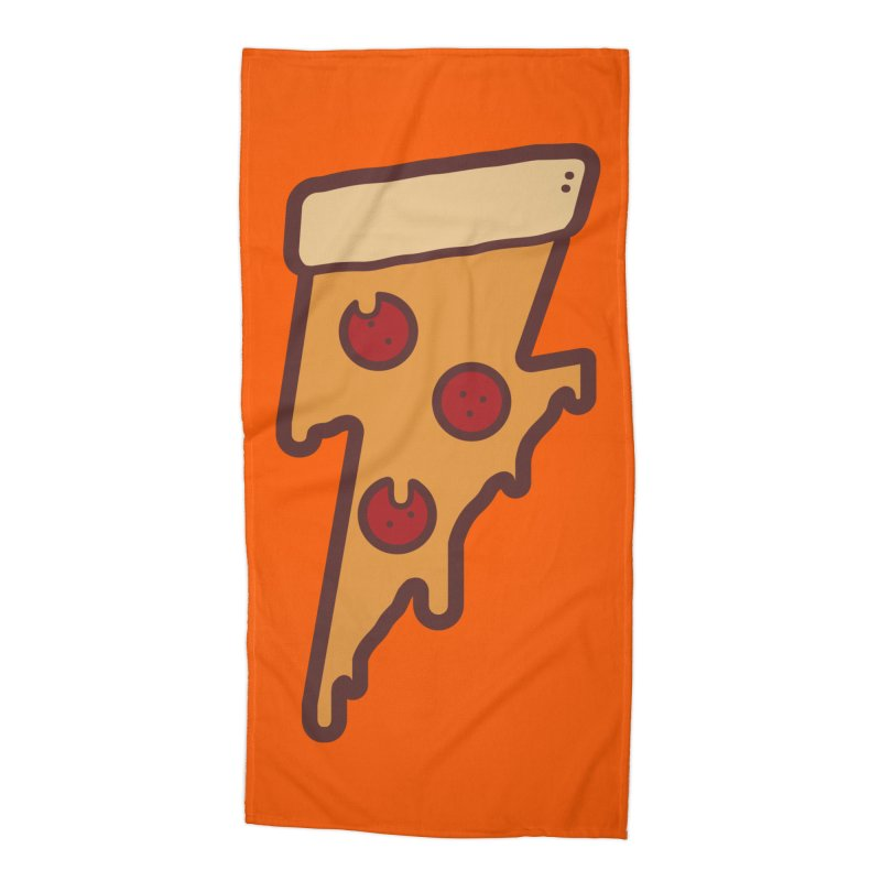 Lightning Fast Accessories Beach Towel by Luis Romero