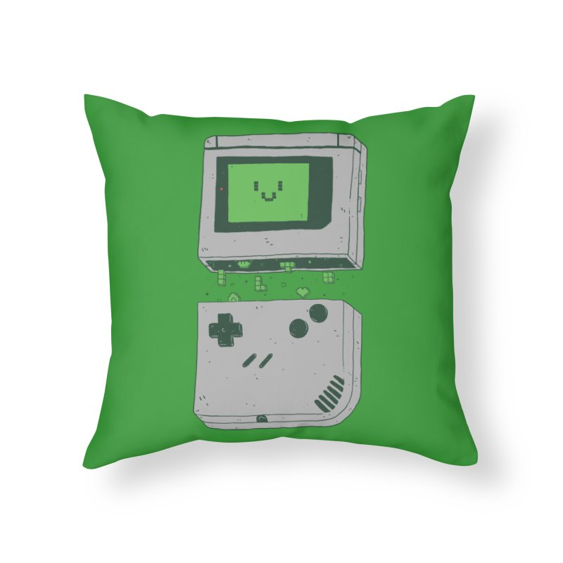 Magic Inside Home Throw Pillow by Luis Romero