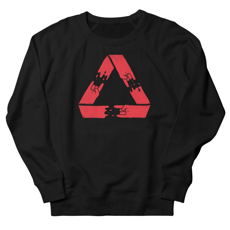Rock on, and on, and on... Men's French Terry Sweatshirt by Luis Romero