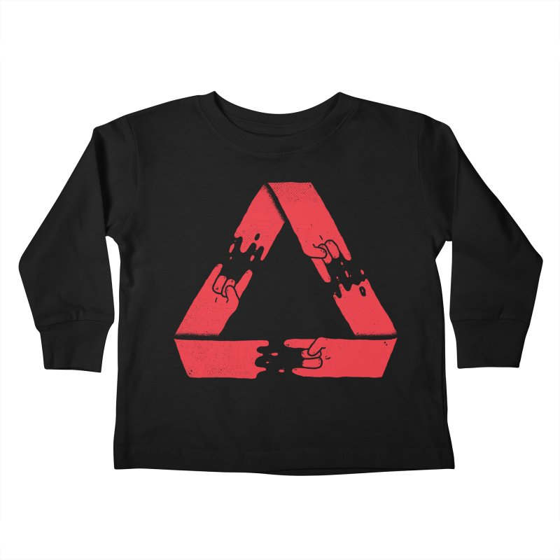 Rock on, and on, and on... Kids Toddler Longsleeve T-Shirt by Luis Romero
