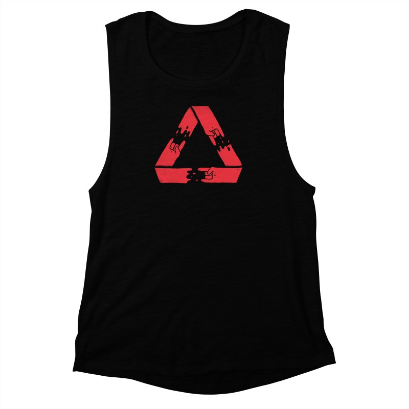 Rock on, and on, and on... Women's Muscle Tank by lxromero