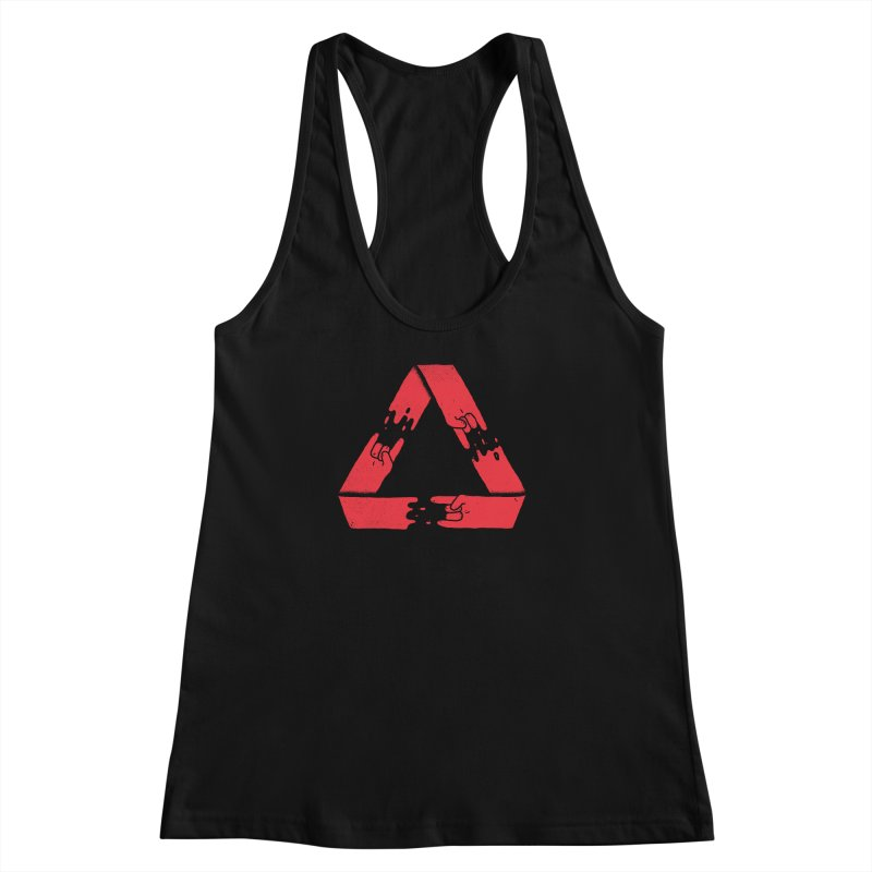 Rock on, and on, and on... Women's Racerback Tank by Luis Romero