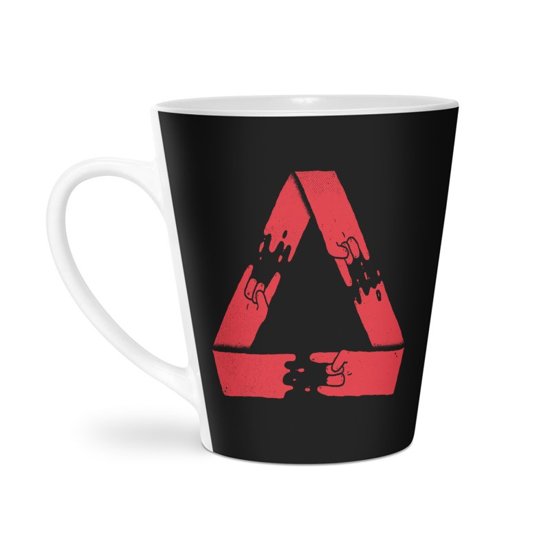 Rock on, and on, and on... Accessories Latte Mug by Luis Romero Shop