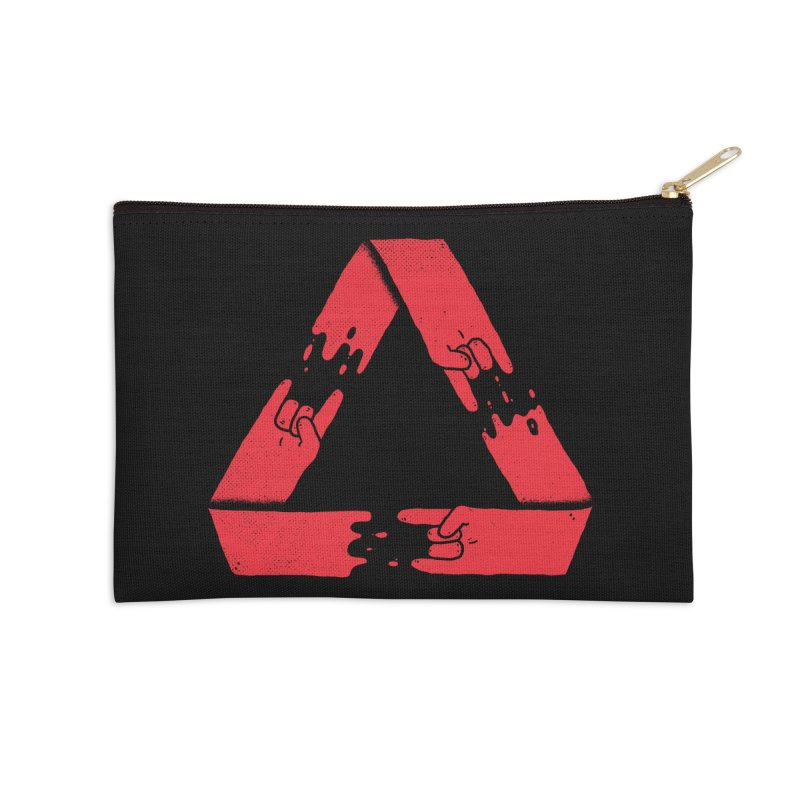 Rock on, and on, and on... Accessories Zip Pouch by lxromero