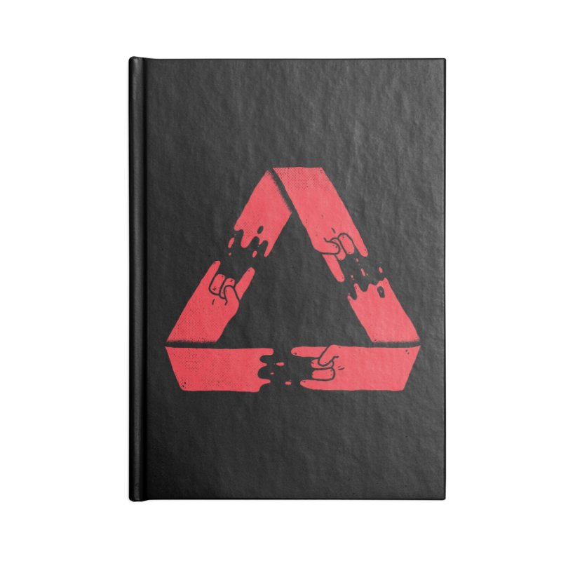 Rock on, and on, and on... Accessories Notebook by Luis Romero