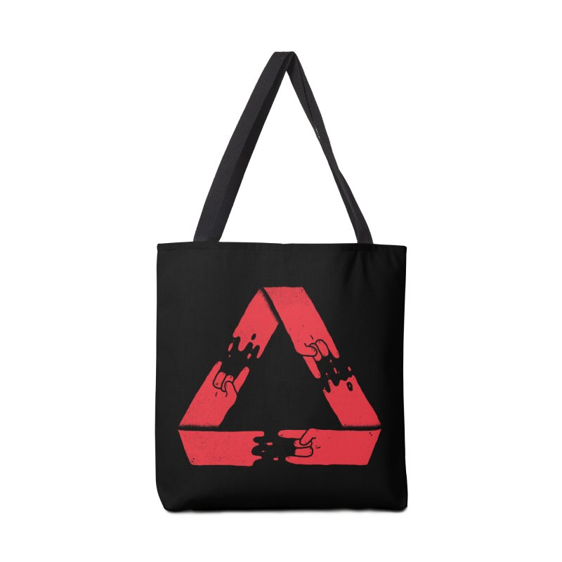 Rock on, and on, and on... Accessories Bag by Luis Romero