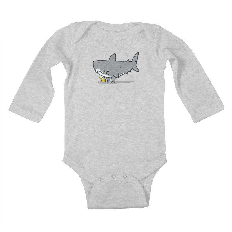 Beach Day Kids Baby Longsleeve Bodysuit by Luis Romero