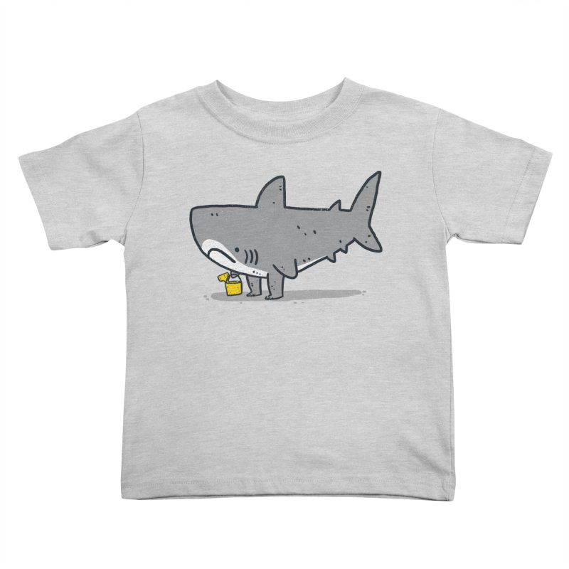 Beach Day Kids Toddler T-Shirt by lxromero