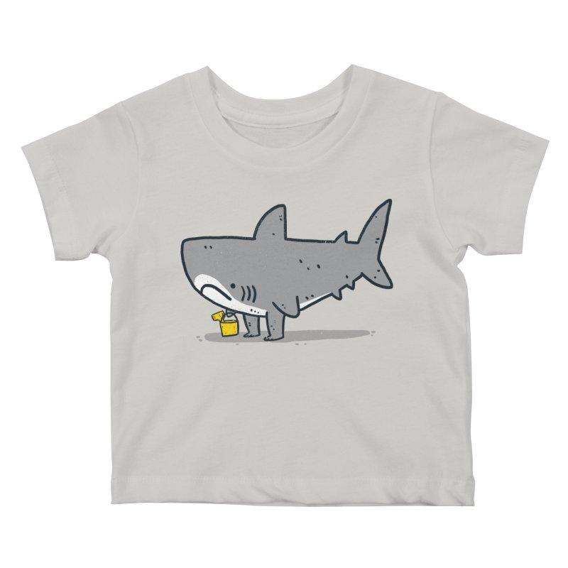 Beach Day Kids Baby T-Shirt by lxromero