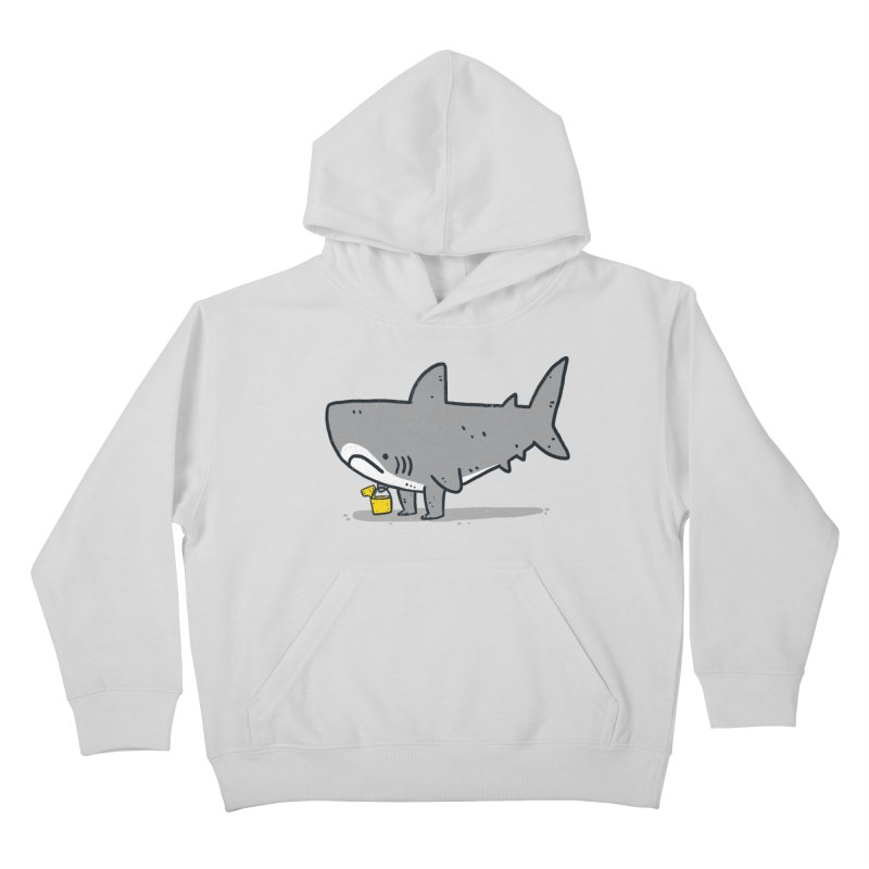 Beach Day Kids Pullover Hoody by Luis Romero