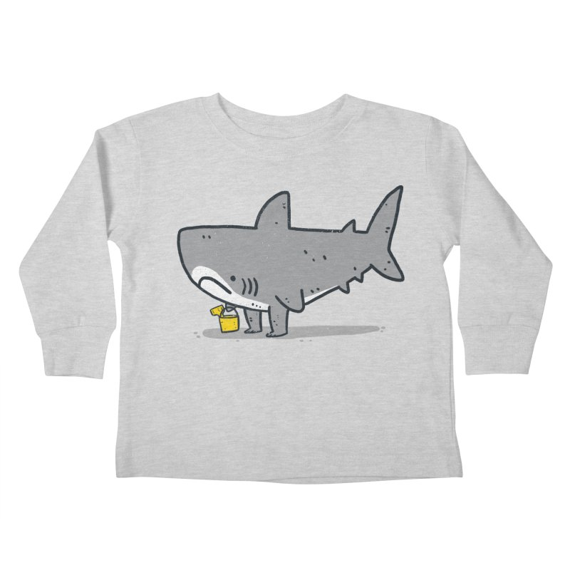 Beach Day Kids Toddler Longsleeve T-Shirt by Luis Romero
