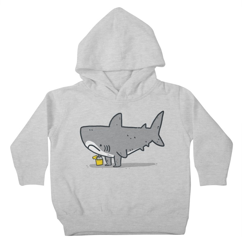 Beach Day Kids Toddler Pullover Hoody by lxromero