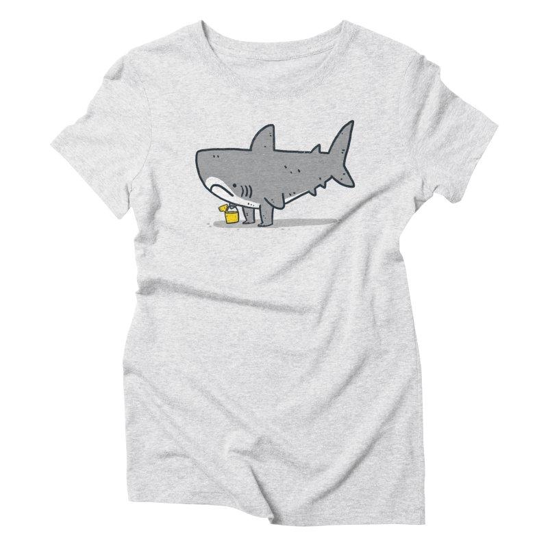 Beach Day Women's Triblend T-Shirt by Luis Romero