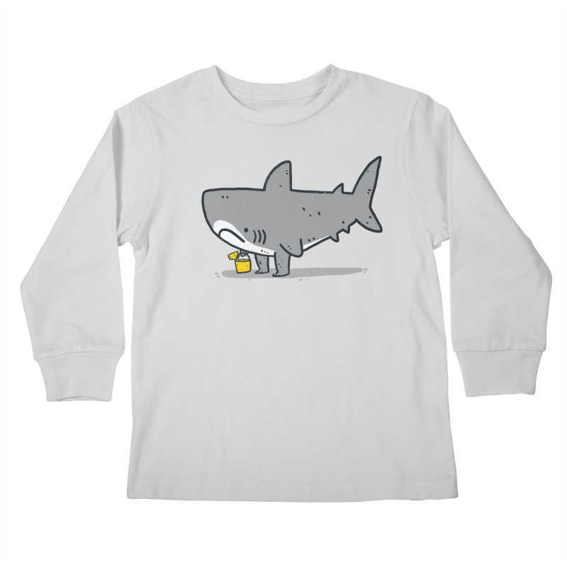 Beach Day Kids Longsleeve T-Shirt by Luis Romero