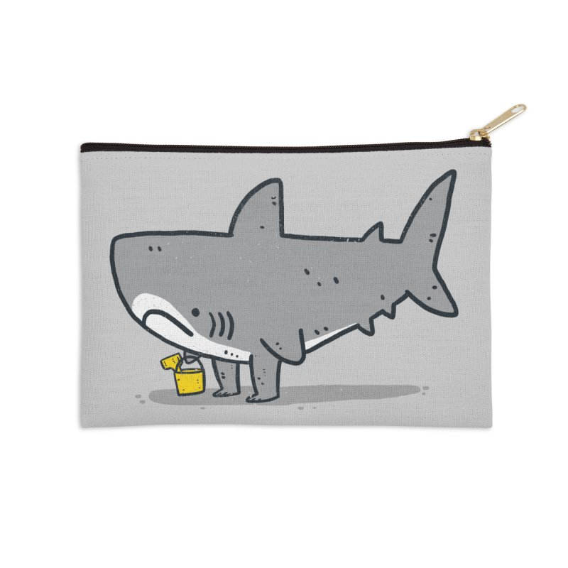 Beach Day Accessories Zip Pouch by lxromero