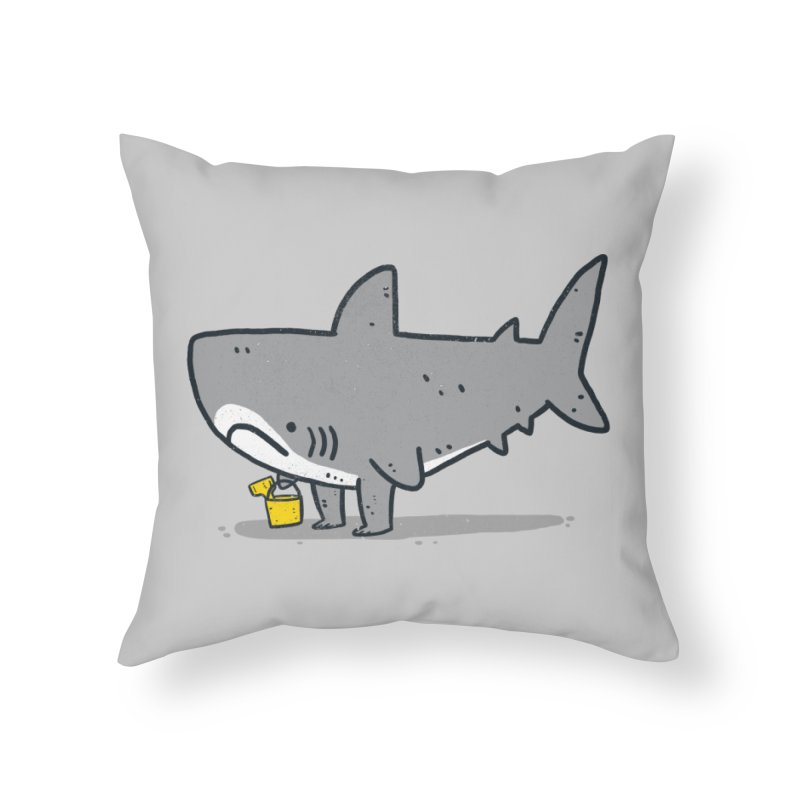 Beach Day Home Throw Pillow by Luis Romero