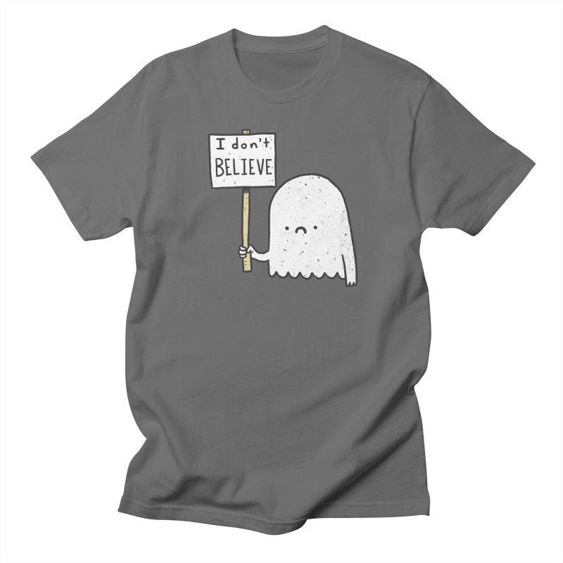 Skeptics Men's T-shirt by lxromero