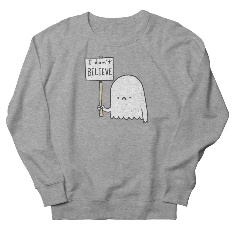 Skeptics Men's French Terry Sweatshirt by Luis Romero