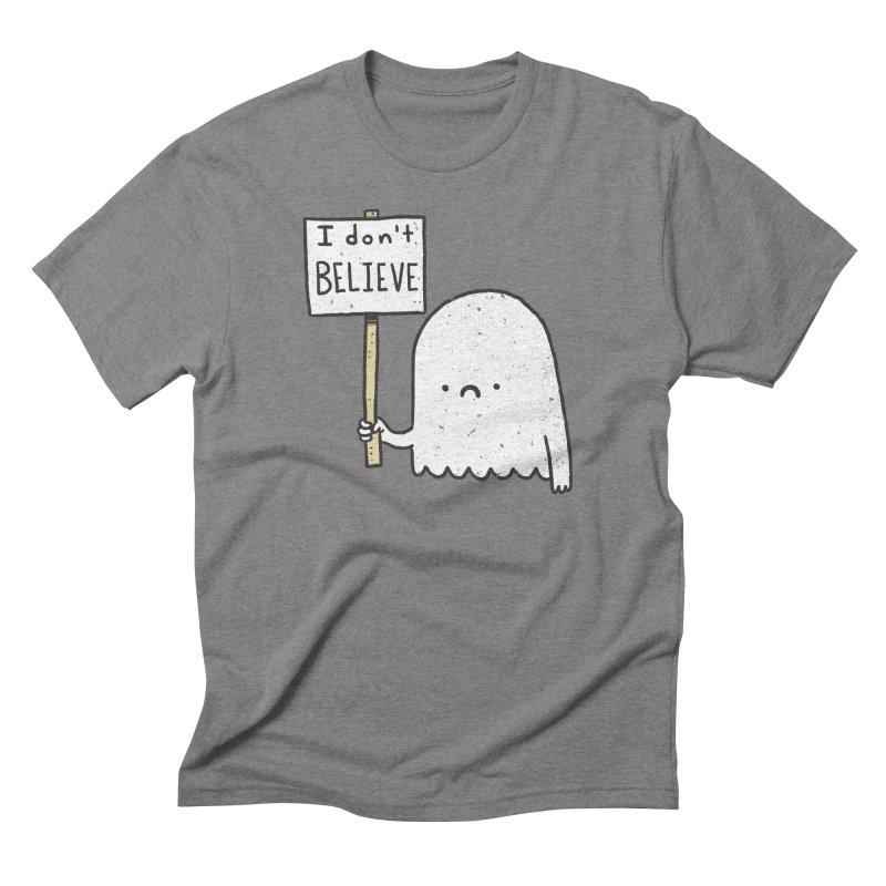 Skeptics Men's Triblend T-shirt by lxromero