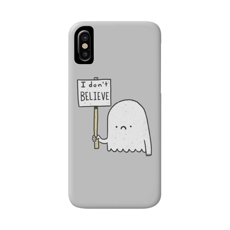 Skeptics Accessories Phone Case by Luis Romero