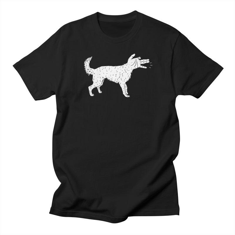 Woof! Men's T-shirt by lxromero