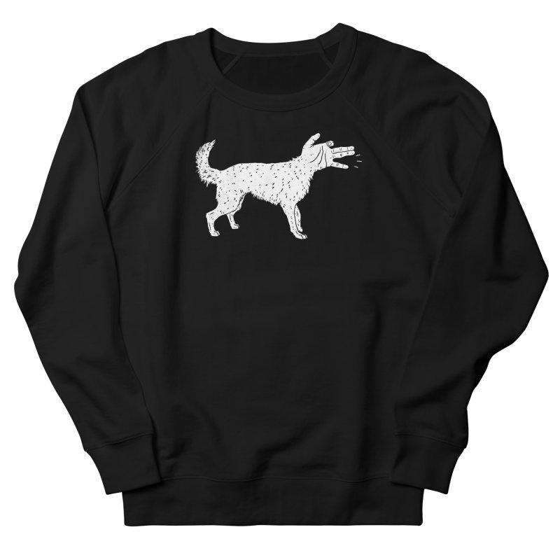 Woof! Men's Sweatshirt by Luis Romero