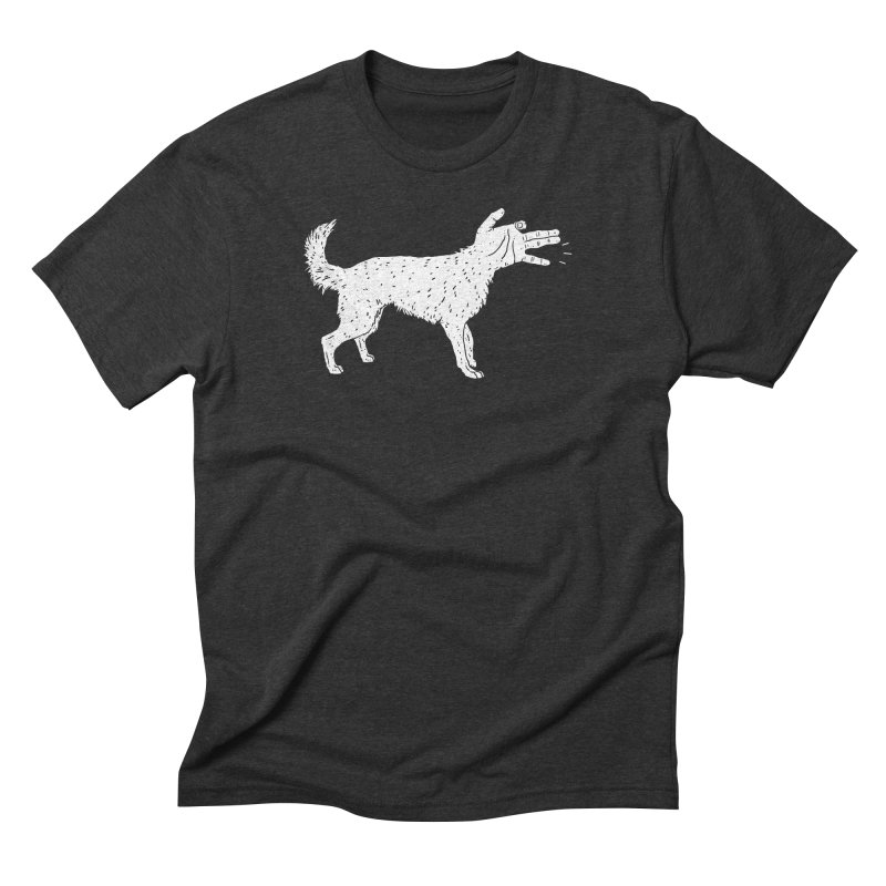 Woof! Men's Triblend T-Shirt by Luis Romero