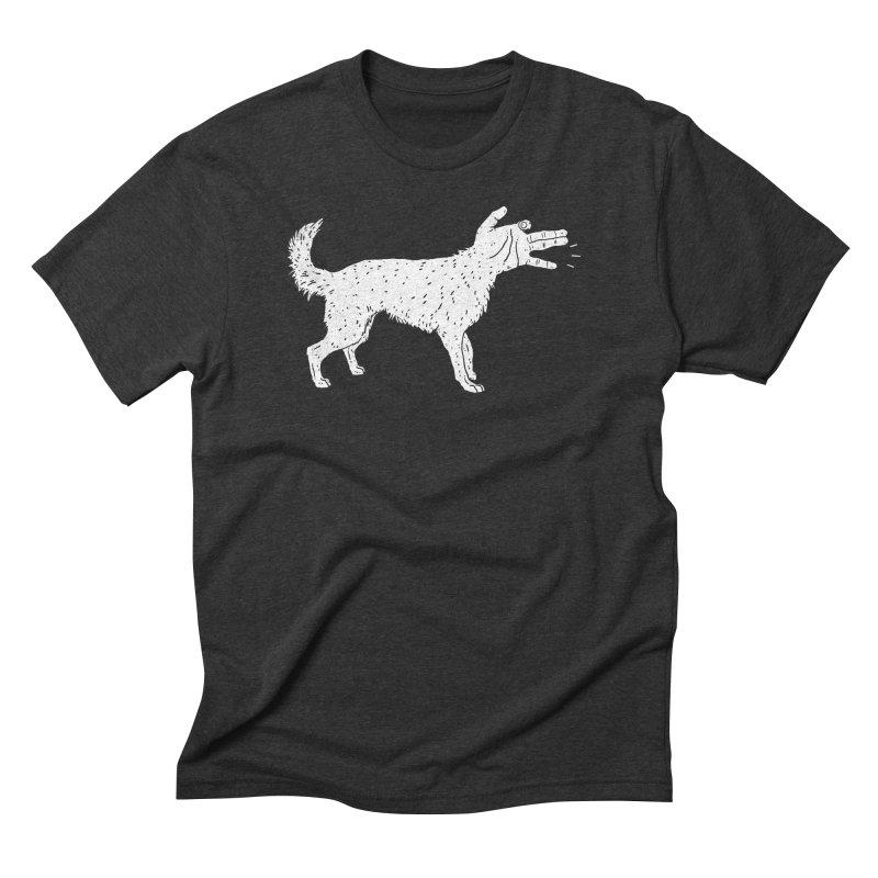 Woof! Men's Triblend T-shirt by lxromero