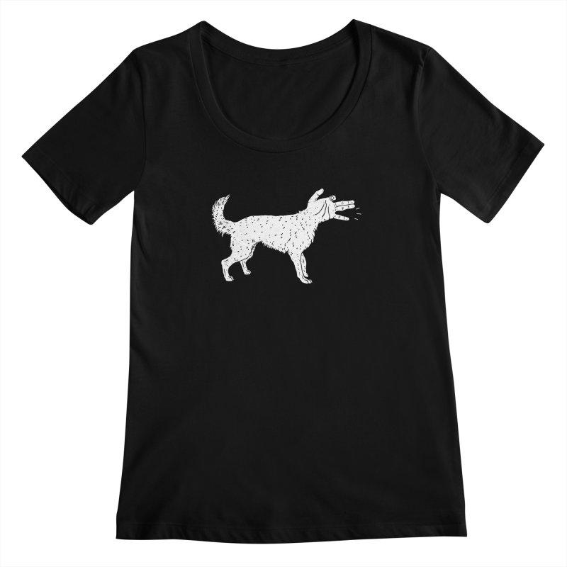 Woof! Women's Scoopneck by lxromero
