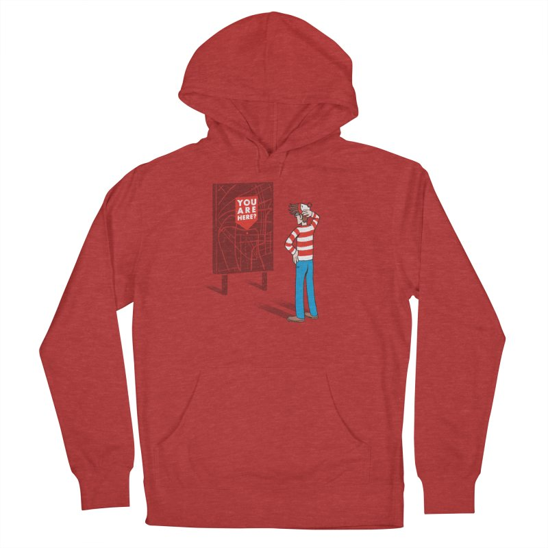 Where am I? Men's Pullover Hoody by lxromero