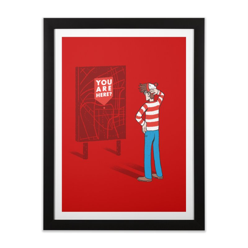 Where am I? Home Framed Fine Art Print by Luis Romero Shop