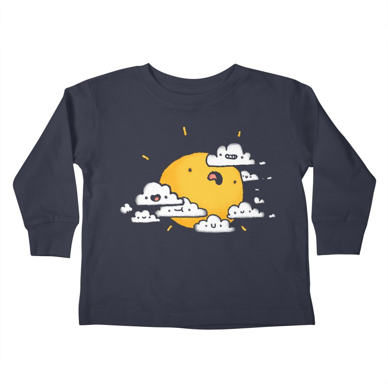 Sunblocked Kids Toddler Longsleeve T-Shirt by Luis Romero