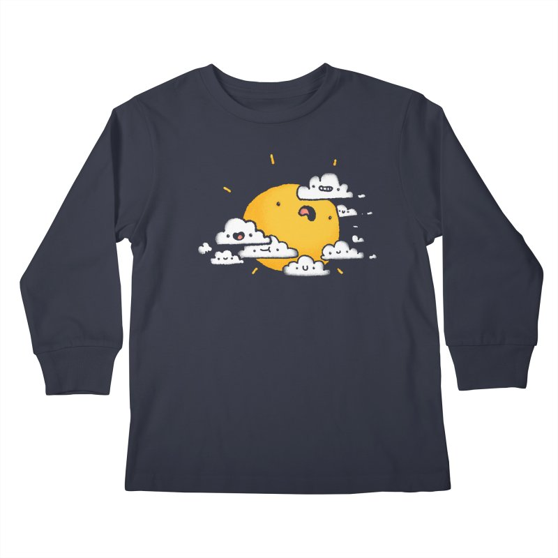 Sunblocked Kids Longsleeve T-Shirt by Luis Romero