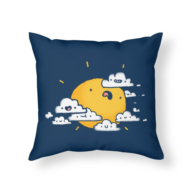 Sunblocked Home Throw Pillow by Luis Romero