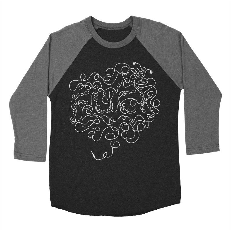 Tangled Women's Baseball Triblend Longsleeve T-Shirt by Luis Romero Shop