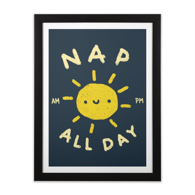 All Day Home Framed Fine Art Print by Luis Romero Shop