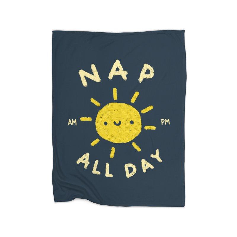 All Day Home Fleece Blanket Blanket by Luis Romero Shop