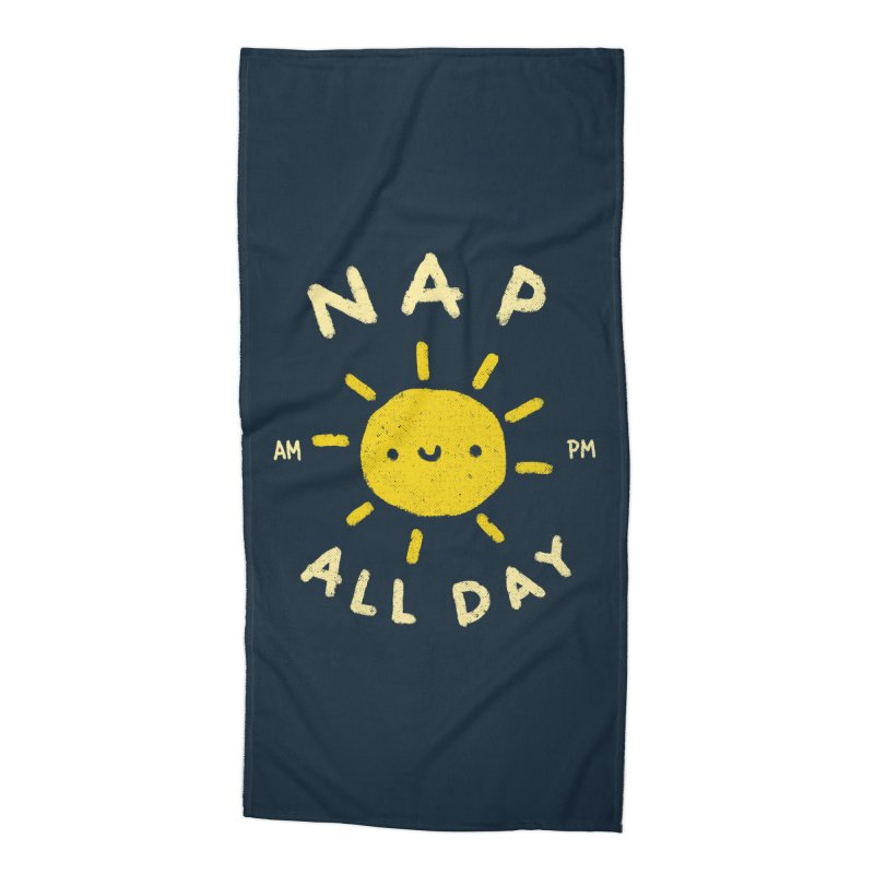 All Day Accessories Beach Towel by Luis Romero Shop