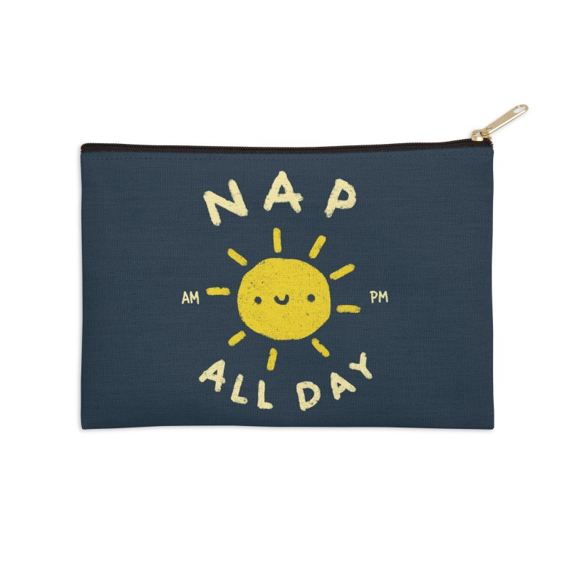All Day Accessories Zip Pouch by Luis Romero