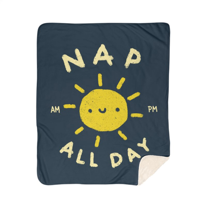 All Day Home Sherpa Blanket Blanket by Luis Romero Shop