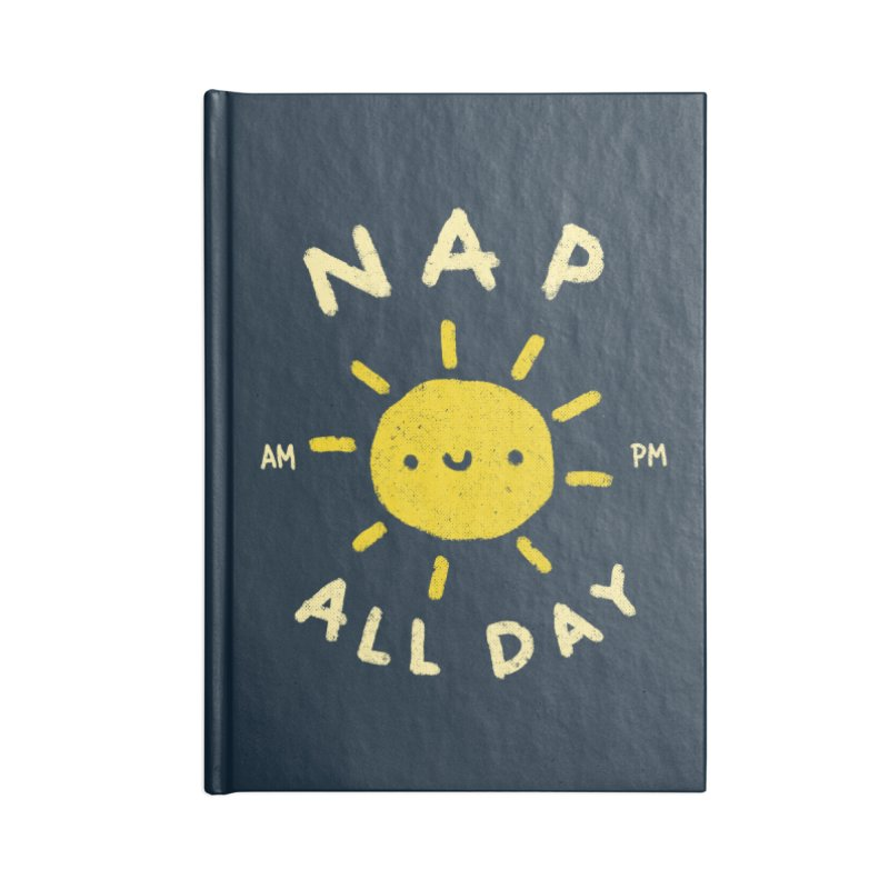 All Day Accessories Lined Journal Notebook by Luis Romero Shop
