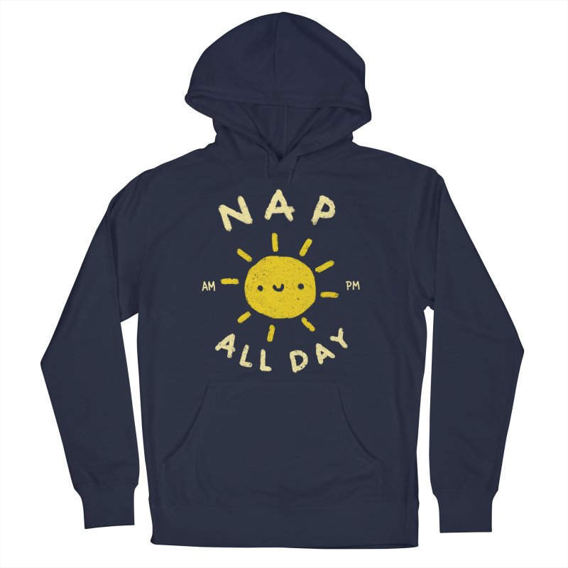 All Day Women's French Terry Pullover Hoody by Luis Romero