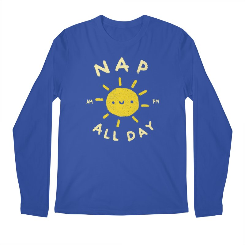 All Day Men's Regular Longsleeve T-Shirt by Luis Romero